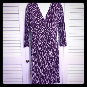Flattering Faux wrap dress